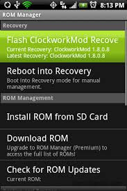 clockworkmod apk how to backup stock rom with clockworkmod rom manager android