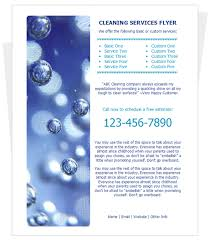 cleaning services flyer templates 9 nice cleaning service flyer