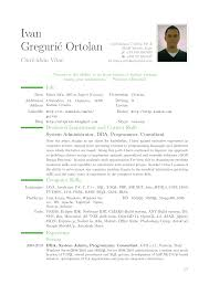 Example Of Australian Resume by 100 Standard Resume Format Doc Resume Standard Resume Font