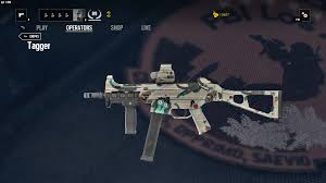 siege ump image ump45 tagger png rainbow six wiki fandom powered by wikia