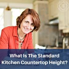 what is the height of a standard kitchen base cabinet what is the standard kitchen countertop height flemington
