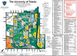 Ohio University Map by Campus Parking Maps