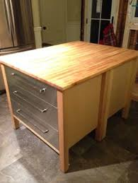 ikea kitchen island butcher block ikea rast hack to potato bin turn ikea into a food storage