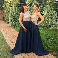navy blue dress crispy navy blue prom dress sleeveless sweep with
