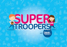 supertroopers from laya healthcare combat childhood obesity
