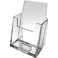 Clear Business Cards Vistaprint Amazon Com Source One Vertical Business Card Holder Clear