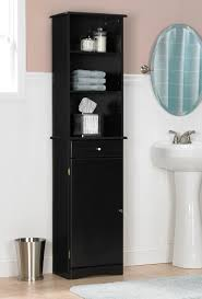Black Bathroom Furniture Bathroom Storage Cabinets Lightandwiregallery Com