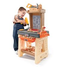 Toddler Tool Benches Real Projects Workshop Kids Pretend Play Step2