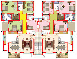 house plans with apartment apartments floor plans search architecture