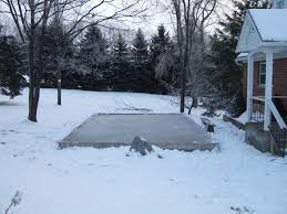How To Build An Ice Rink In Your Backyard Building A Backyard Ice Rink Outdoor Furniture Design And Ideas