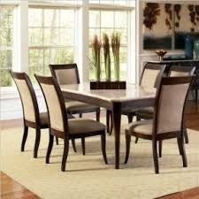 Dark Dining Room Table 7 Piece Glass Dining Room Set Foter