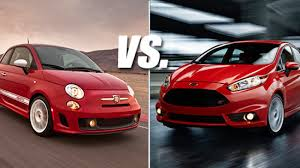St Vs Abarth 500 This Or That Fiat 500 Abarth Vs Ford St W Poll Autoblog