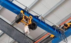 overhead crane and lifting device