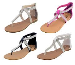 diamante gladiator sandals ebay