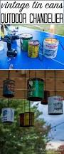 Homemade Outdoor Chandelier by Tin Can Diy Outdoor Lighting Tutorial You Can Do This Outdoor