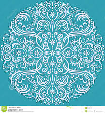 swirling floral pattern ornament stock image image 34831467
