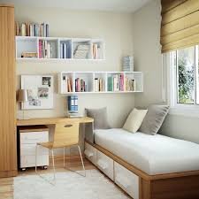 Wonderful Looking Small Single Bedroom Design  Charming Home - Space saving bedroom design
