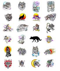 free best wolf tattoos designs
