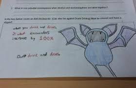 Zubat Meme - zubat anti drink drive ad funny exam answers know your meme