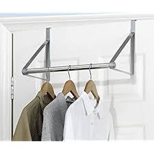 amazon com whitmor over the door closet rod home u0026 kitchen