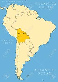 south america map bolivia bolivia locator map country and capital city la paz map of