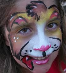 Puppy Makeup Halloween by Amazing Face Painting By Linda Wix Com