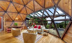 geodesic dome home interior northern california handcrafted geodesic dome home on a