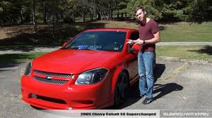 review 2005 chevy cobalt ss supercharged youtube