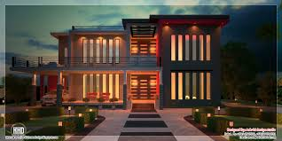 kerala home design dubai beautiful contemporary luxury villa with floor plan kerala home