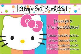 kitty birthday invitations u2014 invitations ideas