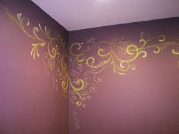Wall Painting Designs For Bedroom Best 25 Gold Painted Walls Ideas On Pinterest Gold Paint For
