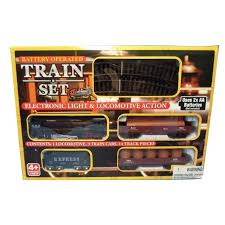 midwood battery operated set lights 14 pieces of track 9
