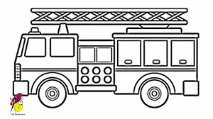 fire truck how to draw a fire truck youtube