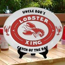 personalized barbecue platter a customized grilling platter for him personalize our 13