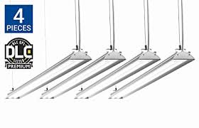 hyperselect led shop light hyperselect utility led shop light 4ft integrated led fixture