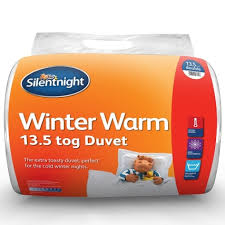 10 5 Tog Duvet Kingsize Silentnight Winter Warm 13 5 Tog Double Duvet Winter Bedding B U0026m