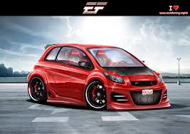 toyota fast car toyota yaris 2009 by emrefast on deviantart