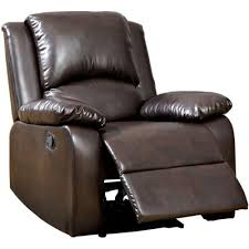 Faux Leather Recliner Solitare Faux Leather Recliner
