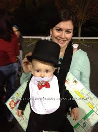 Monopoly Halloween Costume Coolest Baby Halloween Costume Rich Uncle Pennybags Monopoly