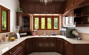 Simple Kitchen Interior Design Elegant Kitchen Design With Open Cabinets Below The Gas Stove Top