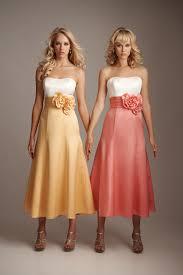 dresses for bridesmaids tea length bridesmaid dresses bridesmaid dress by jorma