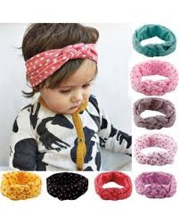 baby girl hair bands big deal on polka dot headbands coxeer 8pcs elastic cloth hair