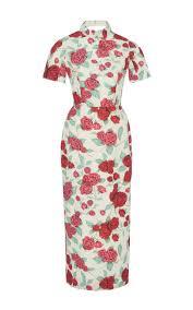 m u0027o exclusive edith floral cocktail dress by emilia moda operandi