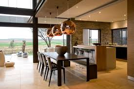 serengeti house mansions of south africa interior design sketches dark brown dining table