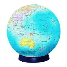 globe jigsaw 15cm