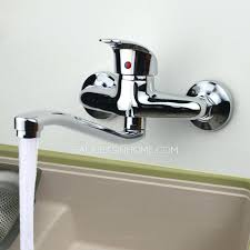 wall mount kitchen sink faucet wall mounted kitchen sink faucets sk delta wall mount kitchen sink