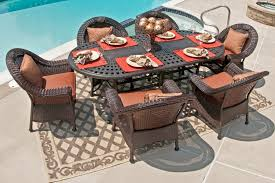 High Top Patio Dining Set Outdoor Wicker Furniture Dining Sets