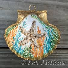 62 best kate mcrostie seashells ornaments pumpkins images on