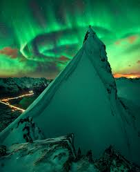 norway apod 2017 december 10 in green company aurora over norway