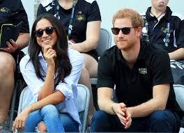 prince harry and meghan markle make their first joint public